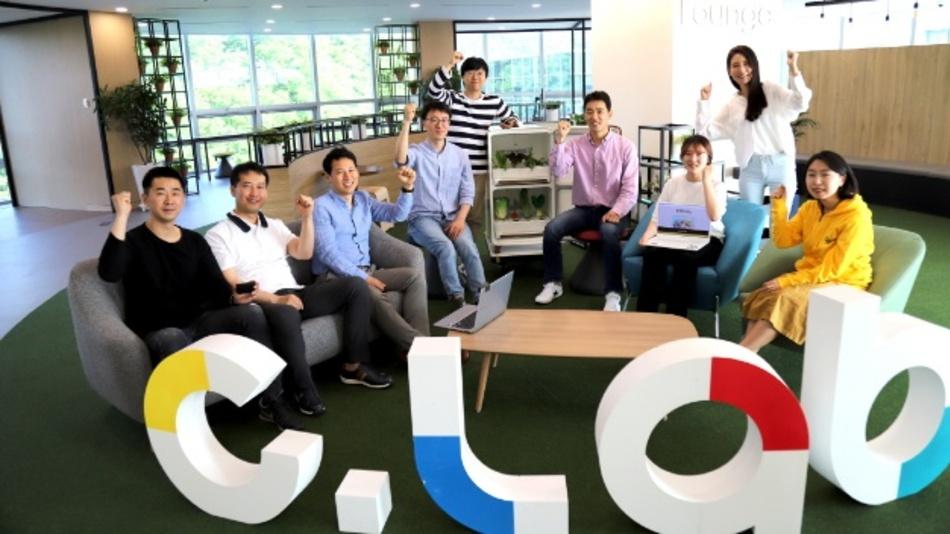 Mitarbeiter der drei neu ausgegründeten Start-ups.