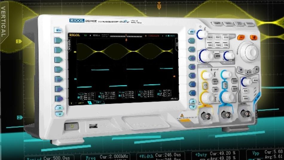 Die kostenlosen Decode-Pakete gibt es unter anderem auch für das Rigol-Oszilloskop DS2102E