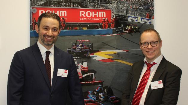 Mit Aly Mashaly, Manager Power Systems bei ROHM Semiconductor und Leiter des neuen Labors, sprach DESIGN&ELEKTRONIK-Redakteur Ralf Higgelke