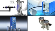 Bildcollage zu Messtechnik-Produkten