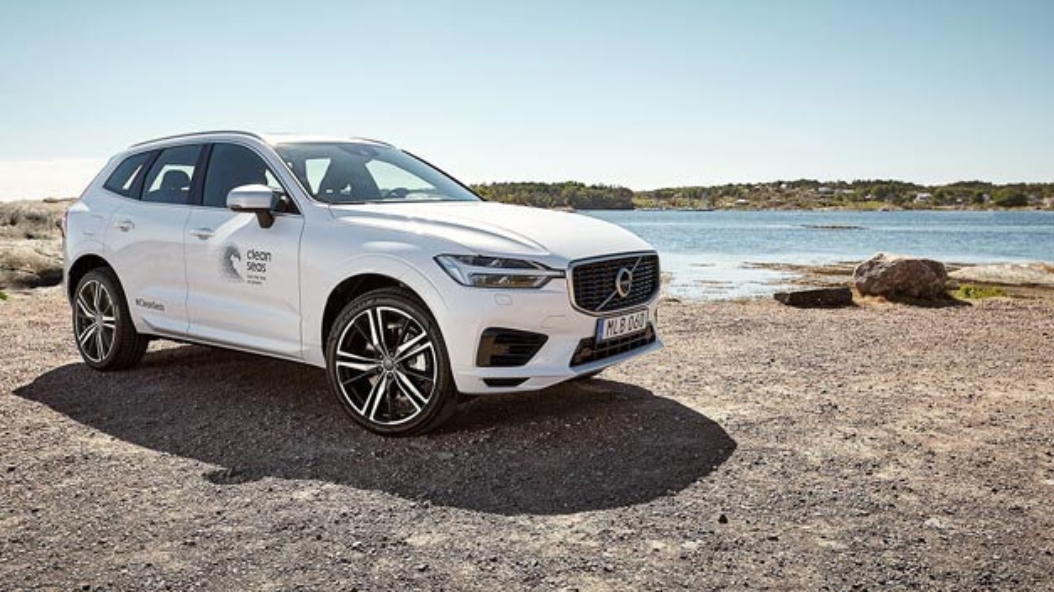 Volvo will seinen ökologischen Fußabdruck verbessern. Hierfür will der Hersteller ab 2025 recycelte Kunststoffe zum Einsatz bringen. Erster Prototyp ist der XC60.