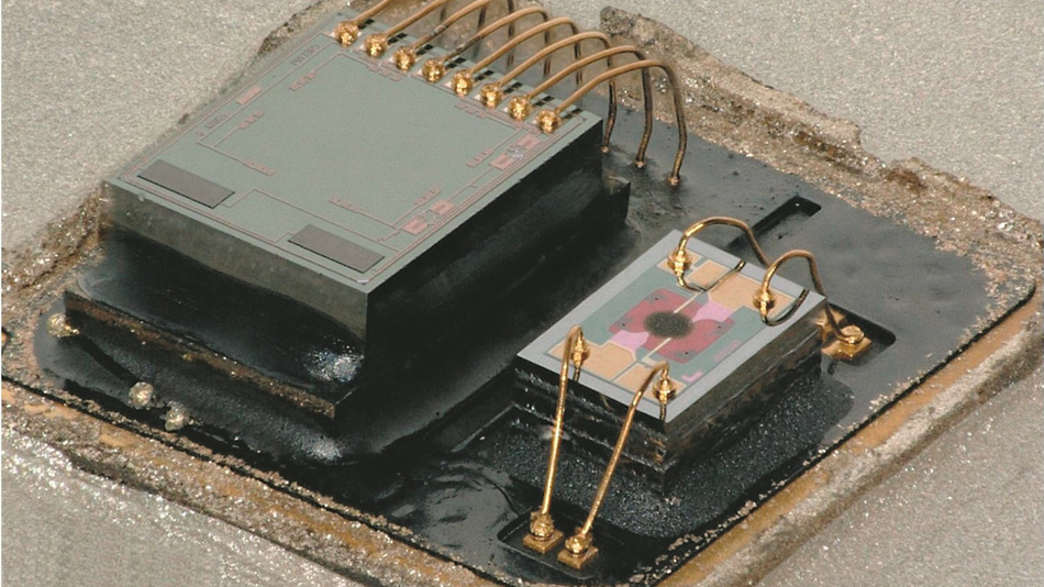 Vier Umweltgrößen gleichzeitig misst der Sensor BME680.