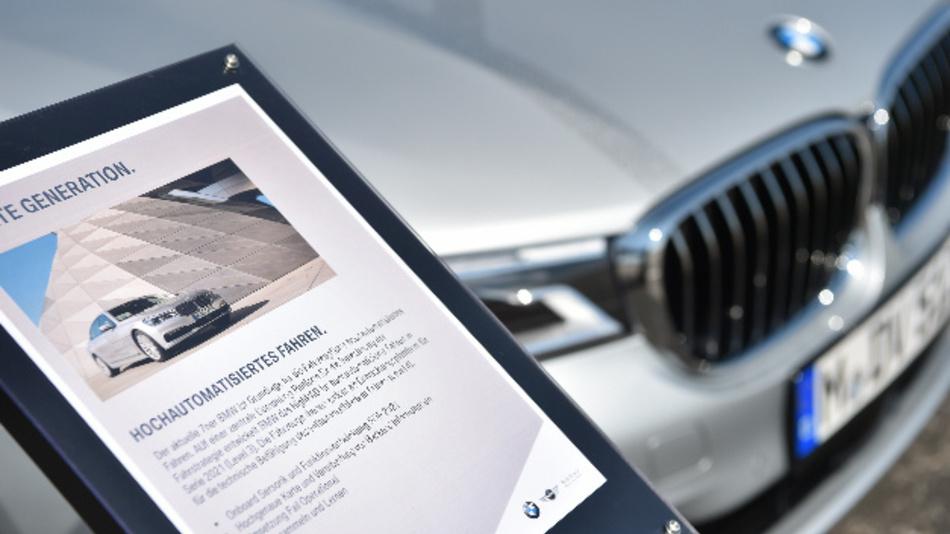 BMW arbeitet mit unterschiedlichen Partnern am hochautomatisierten Fahren.