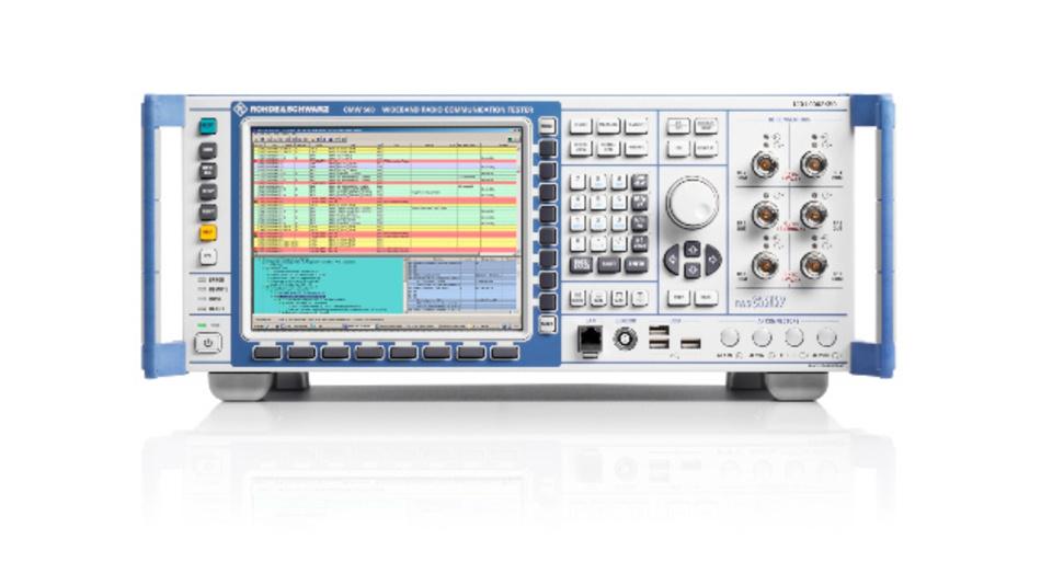 Der R&S CMW500 Wide Band Communication Tester ermöglicht Automobilherstellern und Zulieferern, C-V2X Direct Communications (PC5)-Geräte gemäß GCF Work Item 281 zu testen.