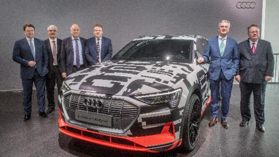 Bram Schot (links), bisheriger Vorstand Vertrieb und Marketing, wird neuer Audi-Chef – zunächst kommissarisch.