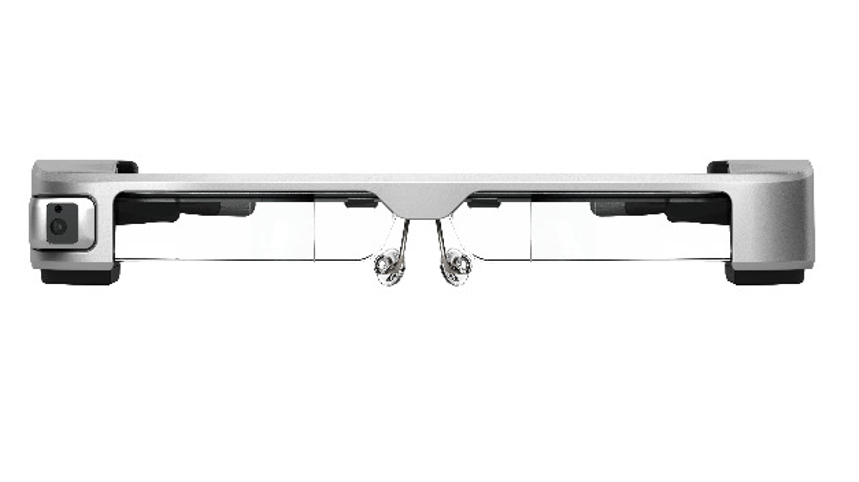Datenbrille BT-35E von Epson mit USB-C- und HDMI-Schnittstelle.