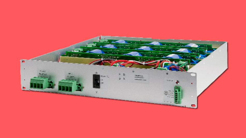Eine Beispielanwendung für S-CAP-BOOST ist die Backup-Einheit 29F-54V-60A, die 22 Supercaps mit insgesamt 29 F enthält.