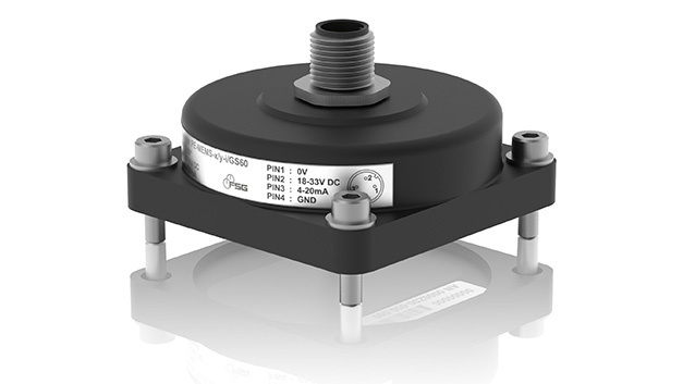 Der Neigungssensor der Baureihe PE-MEMS-x/y-i/GS60L steckt in einem robusten Kunststoffgehäuse in Schutzart IP67.
