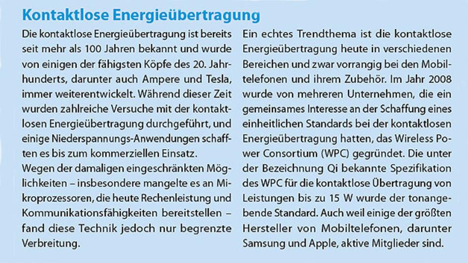 Energieübertragung