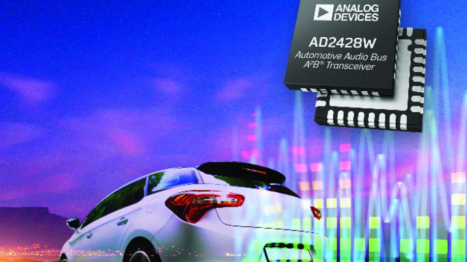 Die A2B-Transceiver von Analog Devices ermöglichen eine effiziente Mikrofonverkabelung und eignen sich somit für mehr Anwendungsfälle als bisher.