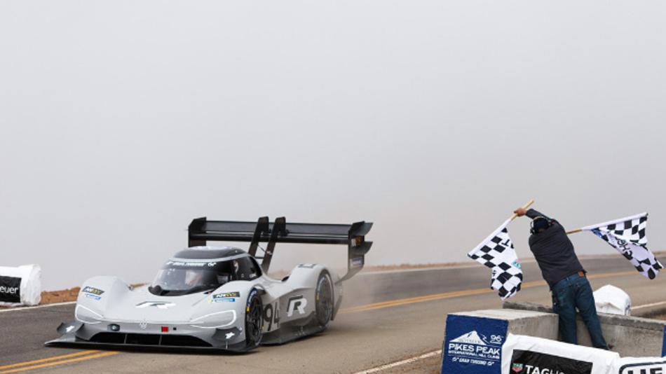 Rekord für Romain Dumas im I.D. R Pikes Peak.