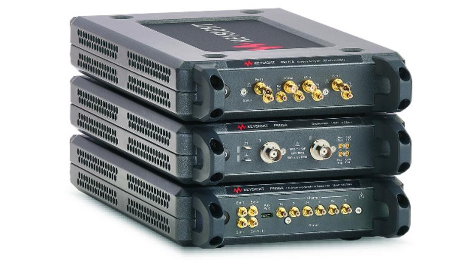 Die drei USB-Oszilloskope aus Keysights Streamline-Serie haben jeweils zwei Eingänge; die Bandbreite beträgt 200 MHz, 500 MHz und 1GHz.