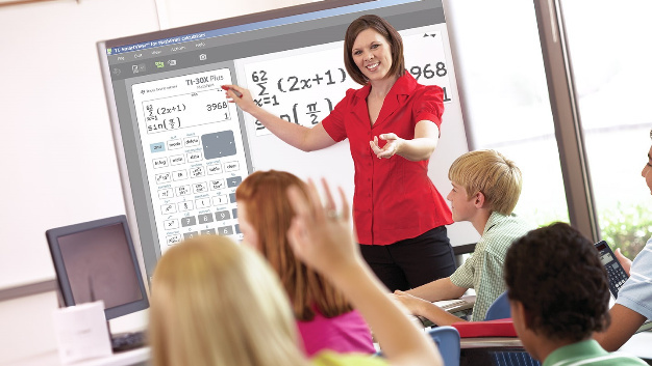 Ergänzend zu den Schulrechnern gibt es für Lehrkräfte eine neue Emulator Software für TI MathPrint: Wahlweise lassen sich der TI-30X Plus MathPrint oder der TI-30X Pro MathPrint emulieren. Die Software lässt sich in Kombination mit Notebook/ Beamer oder mit einem interaktiven Whiteboard nutzen.
