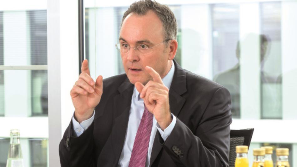 Geschäftsführer Markus Eckhardt, Brunel.