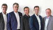Der neue SGET-Vorstand (von links nach rechts): Wolfgang Eisenbarth (Portwell) als Vorstandsvorsitzender, Christian Eder (congatec AG) als erster Stellvertreter, Martin Unverdorben (Kontron) als zweiter Stellvertreter, Martin Steger (iesy GmbH) als S