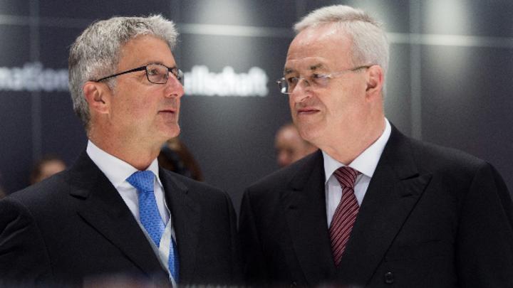 Rupert Stadler und Martin Winterkorn