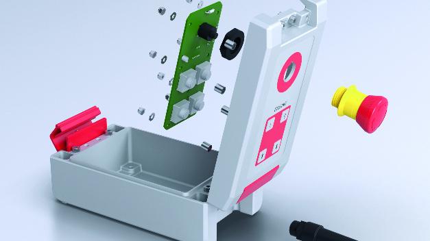 Die gemäß Schutzart IP66 spezifizierten Alu-Gehäuse schützen die Elektronik selbst gegenüber starkem Strahlwasser.