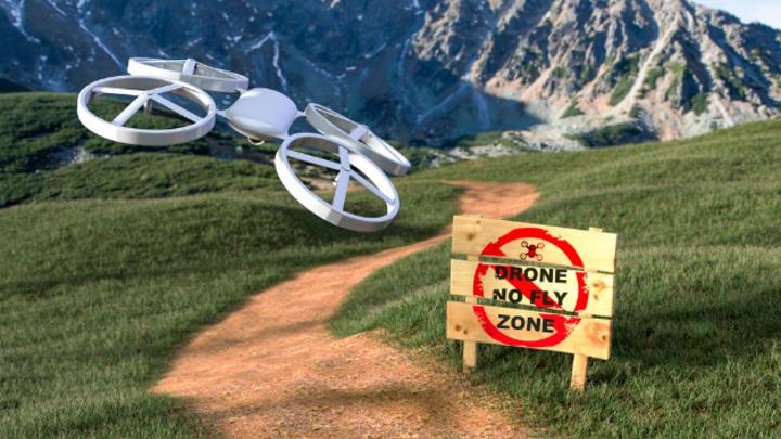 Drohnen-Erkennungs- und -Abwehrsystem.