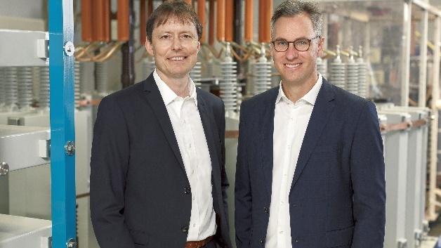 links: Dr. Thomas J. Schöpf (CTO); rechts: Dr. Philipp Dehn (CEO)