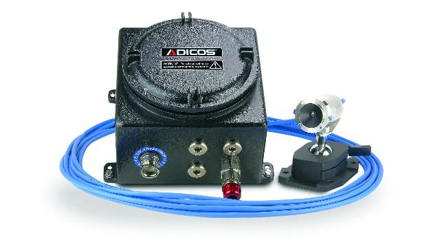 Bild 1. Der Adicos Hotspot von GTE erkennt Glutnester innerhalb einer Reaktionszeit von minimal 50 ms.