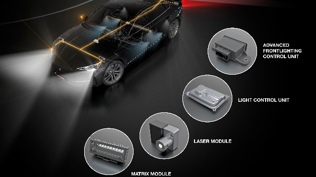 Continental und Osram entwickeln intelligente Produkte für Scheinwerfer, Heck- und Innenbeleuchtung.