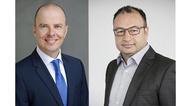 Mario Vogel und Sühel Semerci von Grundig