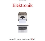 Elektronikausgaben im September