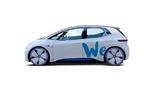 VW I.D. mit Aufschrift We