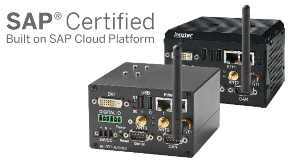 SAP zertifizierte IoT Gateways emIOT-A/iMX6 und emIOT-X