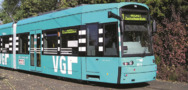 Straßenbahn der Verkehrsgesellschaft Frankfurt am Main