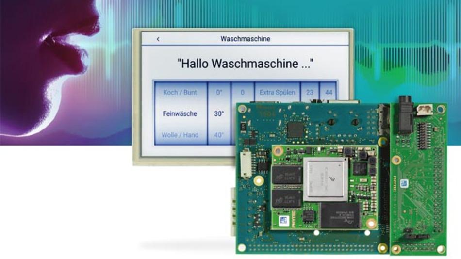 Mit dem Sprachsteuerungskit von Phytec und Voice Inter Connect kann das i.XM6-System Sprachbefehle erkennen.