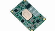 Das Typ-10-COM-Express-Modul NanoCOM-APL von Aaeon basiert auf einem Intel-Atom-, Celeron- oder Pentium-Prozessor der sechsten Generation und verfügt über einen integrierten LPDDR4-Speicher mit einer Kapazität von bis zu 8 GB. Die Architektur des 7-W