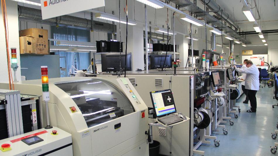 Ein Blick in die Produktion von Gemac.