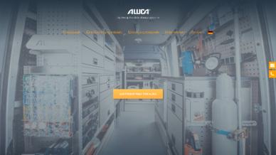 Screenshot: ALUCA Website