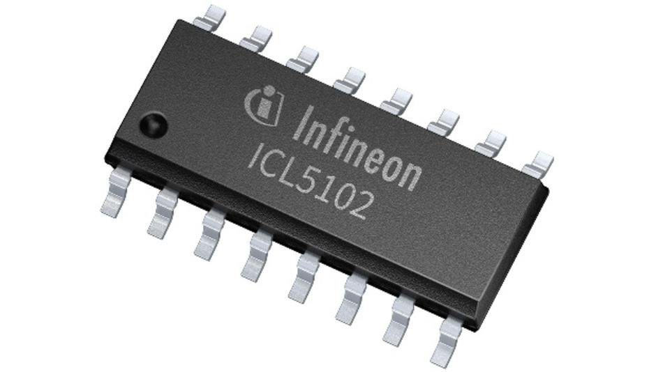 Für die zweite Generation von Resonanz-Controller-ICs hat Infineon zusätzliche Mechanismen für die Leistungsfaktorkorrektur entwickelt.