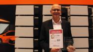 Der erste Platz in der Kategorie »Regenerative Energien« ging an Solarwatt: Entgegen genommen hat die Auszeichnung Walter Bornscheuer, Vice President Product Management/R&D/Quality.