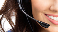 Headset Frau
