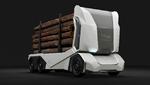 Einride präsentiert Holztransportfahrzeug T-Log