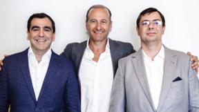 von l.n.r.: Roberto Griffa, Geschäftsführer der Nice S.p.A., Lauro Buoro, Gründer und Vorstandsvorsitzender von Nice S.p.A. und Maciej Fiedler, Geschäftsführer der Fibar Group S.A.