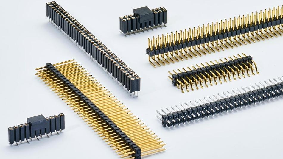 Bild 2. Bei den Standardsteckverbindern werden für die Kontaktelemente Kupferlegierungen als  Basismaterial verwendet. Diese müssen durch eine Nickel-Sperrschicht aber noch veredelt werden, um Korrosion auf der Oberfläche zu vermeiden.