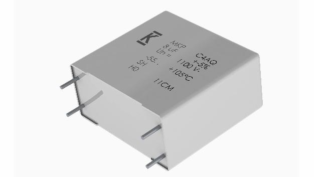 Die AEC-Q200-konformen Folienkondensatorenvon SE Spezial-Electronic eignen sich für Zwischenkreis-, Gleichstromfilter und Energiespeicheranwendungen.