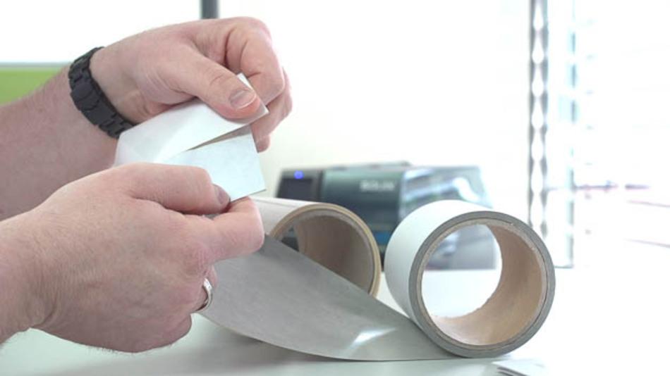 Bei der Wahl des richtigen Etiketts ist das Material mitentscheidend.