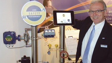 Matthias Garbsch mit der neuen Marke Jumo Safety Performance