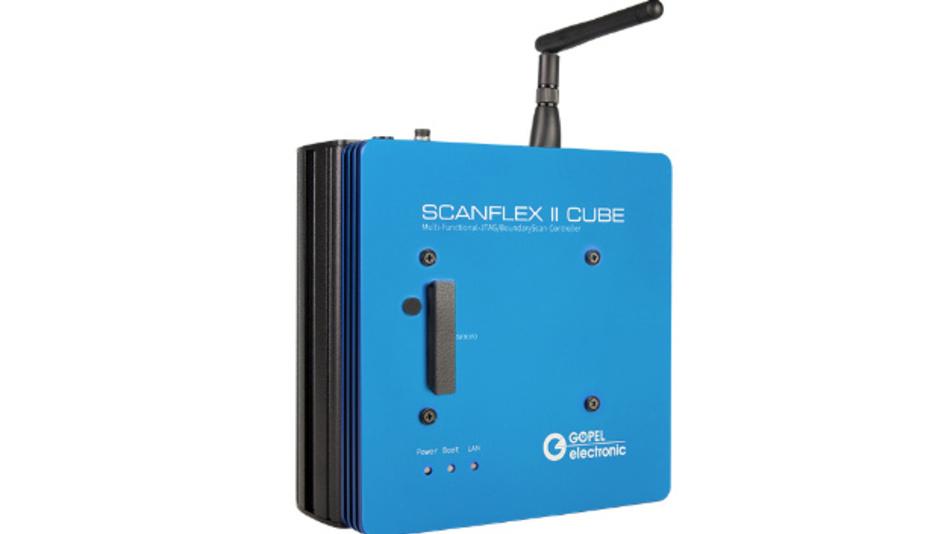 Der modulare Boundary Scan Controller Scanflex II Cube wurde um eine WLAN-Schnittstelle erweitert.