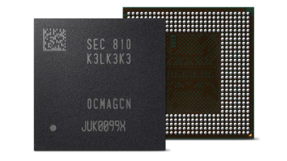 LPDDR5-DRAM-IC mit 8 Gbit, speziell für 5G- und AI-Mobilgeräte