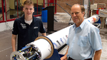 Stratos III soll Raketen-Höhenrekord brechen