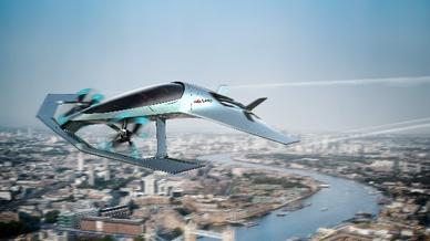 Das Volante-Vision-Konzept von Aston Martin bietet Luxus für drei Personen.
