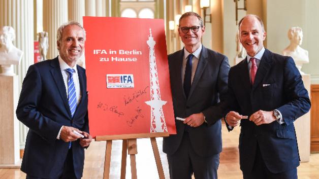 Vertrag um weitere fünf Jahre verlängert: Die IFA bleibt in Berlin ...