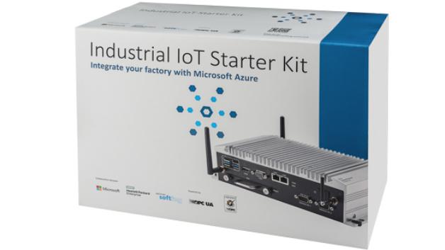 Das Industrial IoT Starter Kit von Softing ermöglicht den Datenaustausch zwischen Maschinen und der Azure Industrial IoT Cloud.
