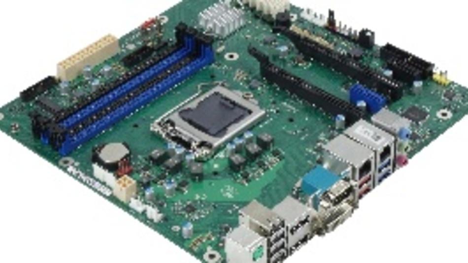 Als industrielles Mainboard für Xeon-Prozessoren führt Fujitsu das D3641-S mit C246 Chipsatz als kompakte Micro-ATX-Version ein.